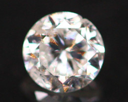 0.20Ct Fancy Natural Round Brilliant Cut Diamond A2403