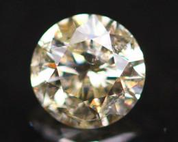 0.27Ct Green Fancy Natural Round Brilliant Cut Diamond A2410