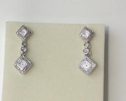 Diamond Earrings 0.50 CTW.