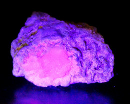 495 CT Natural -UV Light Color Change  Purple Hackmanite Specimen