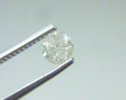 0.60ct  K-I2 Diamond , 100% Natural Untreated
