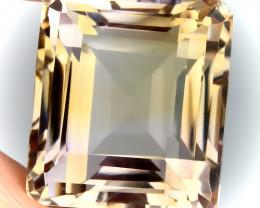 17.80ct Apricot Gold  Ametrine VVS Quality stone -