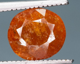 1.45 ct NATURAL SPESSARTITE GARNET ORANGE RED GEMSTONE