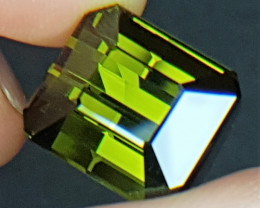 20.90cts, Green Tourmaline,  VVS