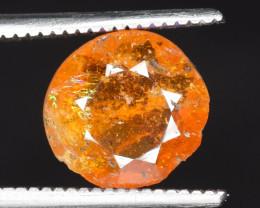 1.65 ct NATURAL SPESSARTITE GARNET ORANGE RED GEMSTONE