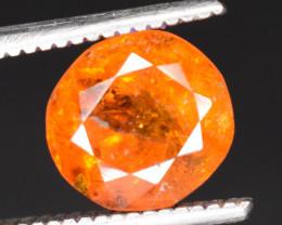 1.60 ct NATURAL SPESSARTITE GARNET ORANGE RED GEMSTONE