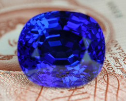 HUGE 76CARAT INTENSE BLUE-PURPLE NATURAL TANZANITE