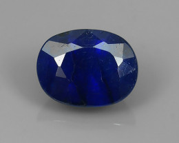 NEW OFFER 2.80 CTS NATURAL OVAL CUT MADAGASCAR BLUE SAPPHIRE!!