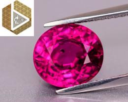 NR! Top Color! Certified Unheated 3.37 CT VIVID Purple Mahenge Garnet