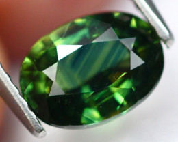 1.81Ct Natural BiColor Green Blue Sapphire A2802