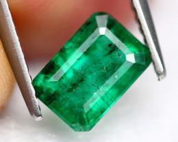 1.39Ct Vivid Green Zambian Natural Emerald A2904