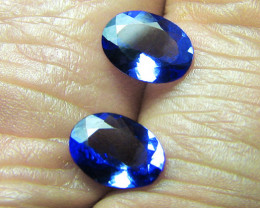 2.71 tcw  Gorgeous Top Color IF Natural Tanzanites