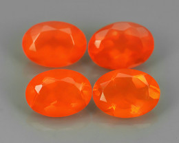 2.02 CTS BEST QUALITY~TOP COLOR EXTREME WONDER LUSTROUS GENUINE FIRE OPAL!