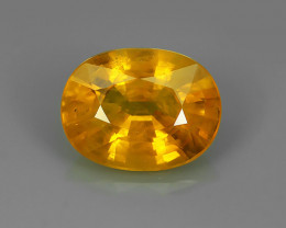 2.70 CTS EXCEPTIONAL NATURAL YELLOW SAPPHIRE DAZZLING!!!
