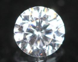 2.40mm 1Pcs D/E/F VS Natural Round Brilliant Cut White Diamond