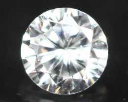 2.50mm D/E/F VS Natural Round Brilliant Cut Diamond