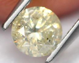 0.72Ct Fancy Round Brilliant Cut Natural Diamond B0309