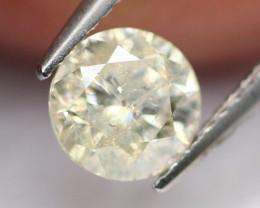 0.43Ct Natural Untreated Brilliant Round Cut Diamond A0407