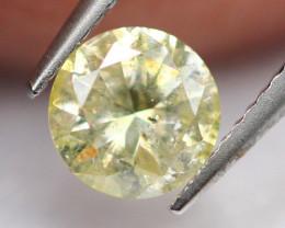 0.44Ct Natural Untreated Brilliant Round Cut Diamond A0411