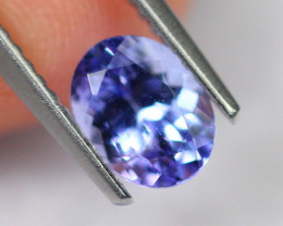1.17cts Natural Violet Blue D Block Tanzanite / 2333