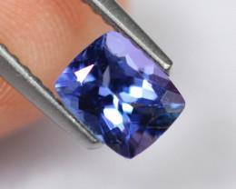 0.90cts Natural Violet Blue D Block Tanzanite / 2338