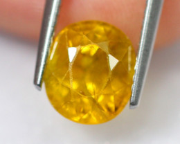 3.29cts Natural Heated Only Yellow Sapphire / 2445