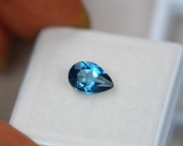 1.68Ct London Blue Topaz Pear Cut Lot LZ2313