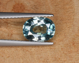 Natural  Blue Zircon 1.99 Cts Top Luster Gemstone