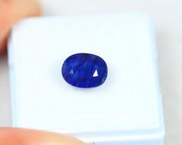 3.32Ct Blue Sapphire Oval Cut Lot LZ2334