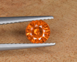 Natural Spessertite Garnet 0.65 Cts