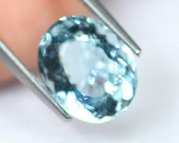 2.70cts Natural vivid Blue Colour Aquamarine / C91
