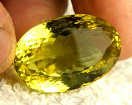 76.79 Carat African VVS Lemon Quartz - Gorgeous