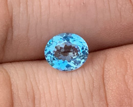 *NR* 1.42 ct Aquamarine - Santa Maria Color - Brazil $1000