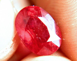 5.65 Carat Vibrant Red Ruby - Gorgeous