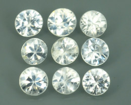 2.80 CTS~EXCELLENT NATURAL WHITE ZIRCON~ ROUND  ~ NICE QUALITY GOOD LUSTER!