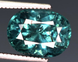 2.50 carats Natural indicolite  Tourmaline gemstone
