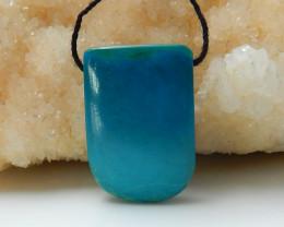 Lucky Turquoise ,Handmade Gemstone ,Turquoise Pendant ,Wholesale C284