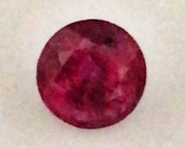 Pretty Medium Bright Untreated (Heat only) Red 4.5mm Ruby - Mozambique  - G