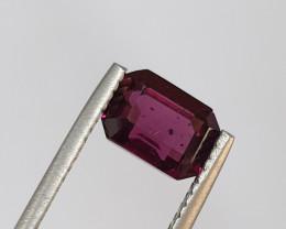 3ct Rhodolite Garnet Octagon 8.8x6.6x4.9mm (SKU 22)