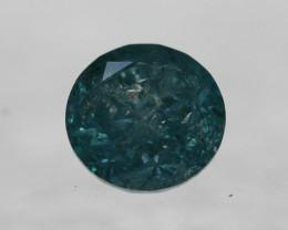 IGL Certified Natural Blue Diamond - 0.65 ct