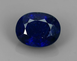 2.90 CTS DAZZLING TOP NATURAL COMPOSITE BLUE SAPPHIRE OVAL MADAGASCAR NR!!!