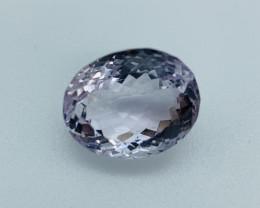 Amethyst Loose Gemstone - 24.09 ct  - Cut Oval - Color Purple