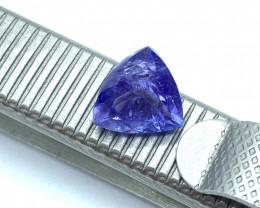 Tanzanite Loose Gemstone  - 1.88 carats - Cut Triangle Mixed