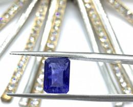 Tanzanite Loose Gemstone  - 3.34 carats  - Cut Octa Mix - IPGTL Certificate