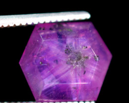 Top class 3.05 carats AAA++ grade Trapiche Pink Kashmir Sapphire