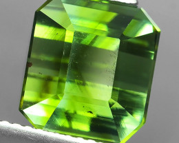 6.65 CTS GLISTENING OCTAGON NICE GREEN NATURAL TOURMALINE!!!
