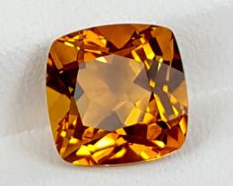 4.45Crt Madeira Citrine  Best Grade Gemstones JI30