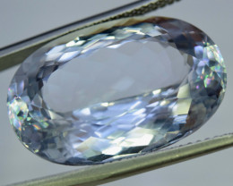 41.30 cts Natural Aqua Color Spodumene Gemstone