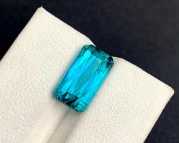 5.85 cts Blue Tourmaline Gemstone