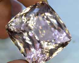 Next Bid Wins ~ 247.25 cts Natural Peach Pink Kunzite Gemstone